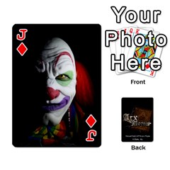 Jack Playing Cards 2 Sides   Arx Mortis By Sheri   Playing Cards 54 Designs   Im757t2ei6pn   Www Artscow Com Front - DiamondJ