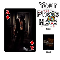 Ace Playing Cards 2 Sides   Arx Mortis By Sheri   Playing Cards 54 Designs   Im757t2ei6pn   Www Artscow Com Front - DiamondA