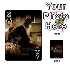Playing Cards 2 Sides   Arx Mortis By Sheri   Playing Cards 54 Designs   Im757t2ei6pn   Www Artscow Com Front - Club2