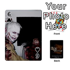 Playing Cards 2 Sides   Arx Mortis By Sheri   Playing Cards 54 Designs   Im757t2ei6pn   Www Artscow Com Front - Spade6