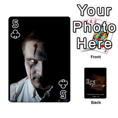 Playing Cards 2 Sides   Arx Mortis By Sheri   Playing Cards 54 Designs   Im757t2ei6pn   Www Artscow Com Front - Club5