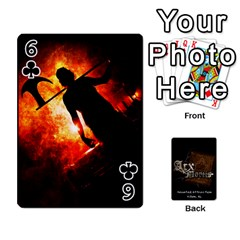 Playing Cards 2 Sides   Arx Mortis By Sheri   Playing Cards 54 Designs   Im757t2ei6pn   Www Artscow Com Front - Club6