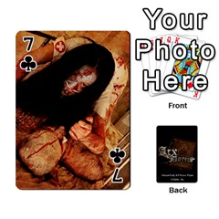 Playing Cards 2 Sides   Arx Mortis By Sheri   Playing Cards 54 Designs   Im757t2ei6pn   Www Artscow Com Front - Club7