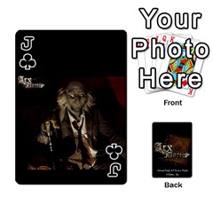 Jack Playing Cards 2 Sides   Arx Mortis By Sheri   Playing Cards 54 Designs   Im757t2ei6pn   Www Artscow Com Front - ClubJ