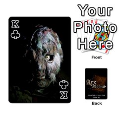 King Playing Cards 2 Sides   Arx Mortis By Sheri   Playing Cards 54 Designs   Im757t2ei6pn   Www Artscow Com Front - ClubK