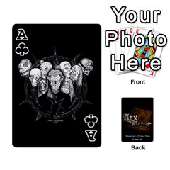 Ace Playing Cards 2 Sides   Arx Mortis By Sheri   Playing Cards 54 Designs   Im757t2ei6pn   Www Artscow Com Front - ClubA