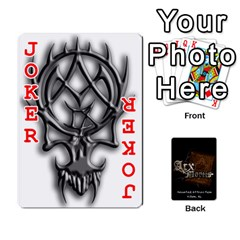 Playing Cards 2 Sides   Arx Mortis By Sheri   Playing Cards 54 Designs   Im757t2ei6pn   Www Artscow Com Front - Joker2