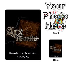Playing Cards 2 Sides   Arx Mortis By Sheri   Playing Cards 54 Designs   Im757t2ei6pn   Www Artscow Com Back