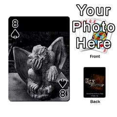 Playing Cards 2 Sides   Arx Mortis By Sheri   Playing Cards 54 Designs   Im757t2ei6pn   Www Artscow Com Front - Spade8