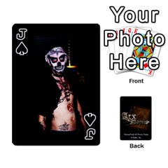 Jack Playing Cards 2 Sides   Arx Mortis By Sheri   Playing Cards 54 Designs   Im757t2ei6pn   Www Artscow Com Front - SpadeJ