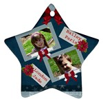 girls star ornament - Ornament (Star)