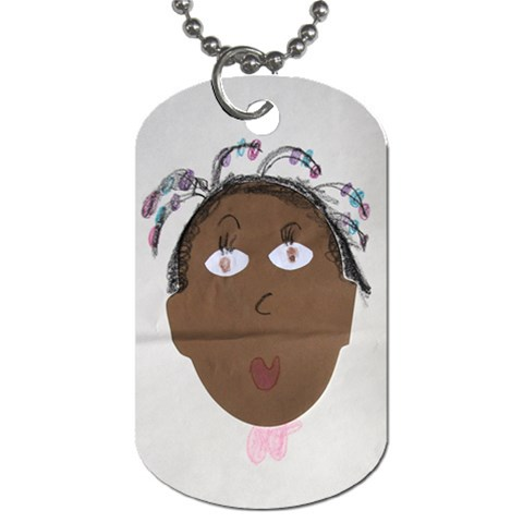 Dog Tag Of Garmai By Naomi Thompson   Dog Tag (one Side)   Boxu66fc0yvw   Www Artscow Com Front