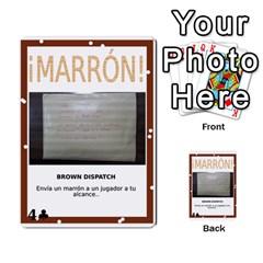 Marrón! By Srlobo   Multi Purpose Cards (rectangle)   Niarj3ju6g3d   Www Artscow Com Front 52