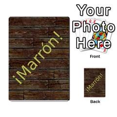 Marrón! By Srlobo   Multi Purpose Cards (rectangle)   Niarj3ju6g3d   Www Artscow Com Back 32