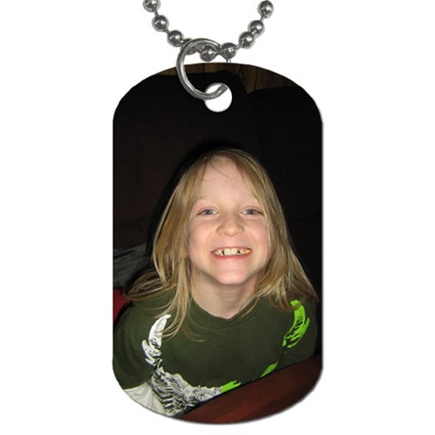 Dog Tags By Teresa Dement   Dog Tag (one Side)   Sc9g8dhsbo1x   Www Artscow Com Front