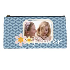 Flower With Girl By Joely   Pencil Case   Qj7ajicgoia8   Www Artscow Com Front