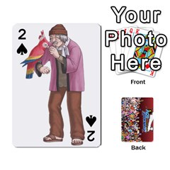 Pwcards By Wes   Playing Cards 54 Designs   Mifao410c0wj   Www Artscow Com Front - Spade2