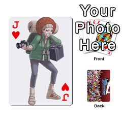 Jack Pwcards By Wes   Playing Cards 54 Designs   Mifao410c0wj   Www Artscow Com Front - HeartJ