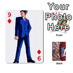 Pwcards By Wes   Playing Cards 54 Designs   Mifao410c0wj   Www Artscow Com Front - Diamond9