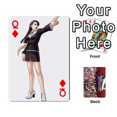 Queen Pwcards By Wes   Playing Cards 54 Designs   Mifao410c0wj   Www Artscow Com Front - DiamondQ