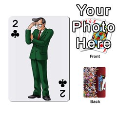 Pwcards By Wes   Playing Cards 54 Designs   Mifao410c0wj   Www Artscow Com Front - Club2