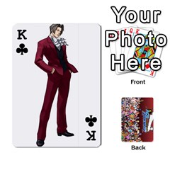 King Pwcards By Wes   Playing Cards 54 Designs   Mifao410c0wj   Www Artscow Com Front - ClubK