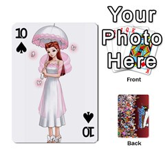 Pwcards By Wes   Playing Cards 54 Designs   Mifao410c0wj   Www Artscow Com Front - Spade10