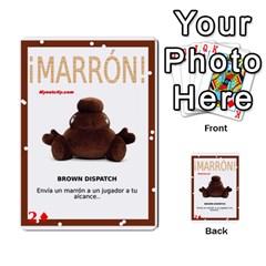 Marrón! 2 By Srlobo   Multi Purpose Cards (rectangle)   4vilkj986l98   Www Artscow Com Front 18