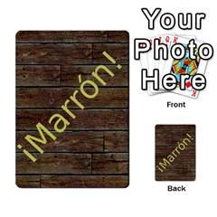 Marrón! 2 By Srlobo   Multi Purpose Cards (rectangle)   4vilkj986l98   Www Artscow Com Back 3