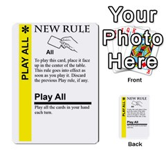 Ad Fluxx By Boanarrow   Multi Purpose Cards (rectangle)   Zcoqvqhecn22   Www Artscow Com Front 31