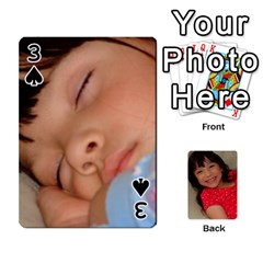 Set 1 Cards By Anne Frey   Playing Cards 54 Designs   Whu8e9eikpdx   Www Artscow Com Front - Spade3
