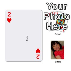 Set 1 Cards By Anne Frey   Playing Cards 54 Designs   Whu8e9eikpdx   Www Artscow Com Front - Heart2
