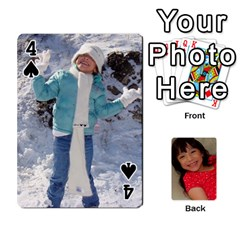 Set 1 Cards By Anne Frey   Playing Cards 54 Designs   Whu8e9eikpdx   Www Artscow Com Front - Spade4