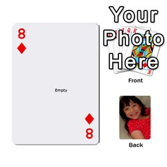 Set 1 Cards By Anne Frey   Playing Cards 54 Designs   Whu8e9eikpdx   Www Artscow Com Front - Diamond8