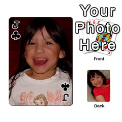 Jack Set 1 Cards By Anne Frey   Playing Cards 54 Designs   Whu8e9eikpdx   Www Artscow Com Front - ClubJ