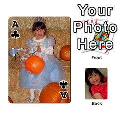 Ace Set 1 Cards By Anne Frey   Playing Cards 54 Designs   Whu8e9eikpdx   Www Artscow Com Front - ClubA