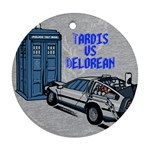 tardis - Ornament (Round)