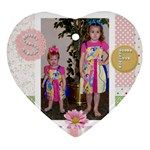 Savannah & Faith ornament - Ornament (Heart)
