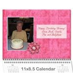 grannys calendar - Wall Calendar 11  x 8.5  (12-Months)