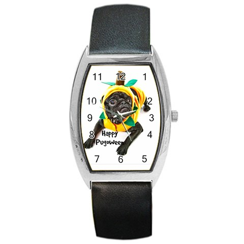 Rocky Xmas Watch By Chantel Reid Demeter   Barrel Style Metal Watch   L8itxsx58ps1   Www Artscow Com Front