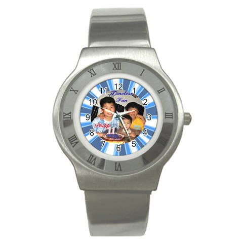 Khai Watch By Phungm   Stainless Steel Watch   Bfhabay7ehug   Www Artscow Com Front