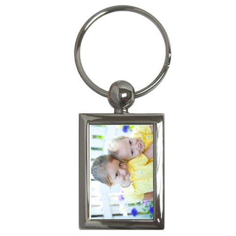 Laura s Keychain By Johannes   Key Chain (rectangle)   R9l3s65z9l26   Www Artscow Com Front
