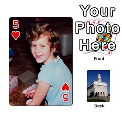 Playing Cards By Kerrigan Family   Playing Cards 54 Designs   1njwhnsj4rtr   Www Artscow Com Front - Heart5
