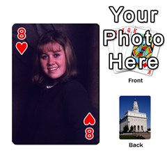 Playing Cards By Kerrigan Family   Playing Cards 54 Designs   1njwhnsj4rtr   Www Artscow Com Front - Heart8