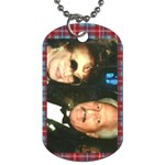 dog tag neclace - Dog Tag (One Side)