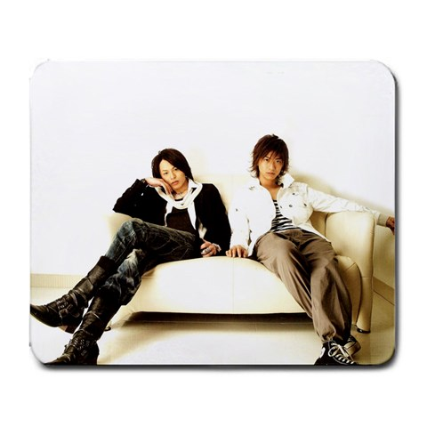 D Boys By Joanie   Large Mousepad   8wx3zmx4v4l8   Www Artscow Com Front