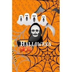 Halloween By Wood Johnson   5 5  X 8 5  Notebook   5zinzd5gej0f   Www Artscow Com Back Cover