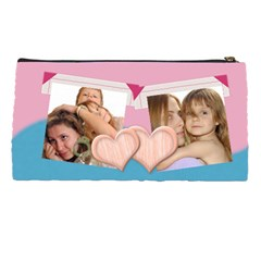 Pink Bag By Wood Johnson   Pencil Case   7osf490ofeqr   Www Artscow Com Back