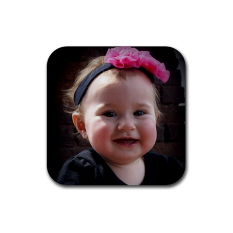 Nana Coaster6 By Jamie   Rubber Coaster (square)   Ak65dxyt0oct   Www Artscow Com Front