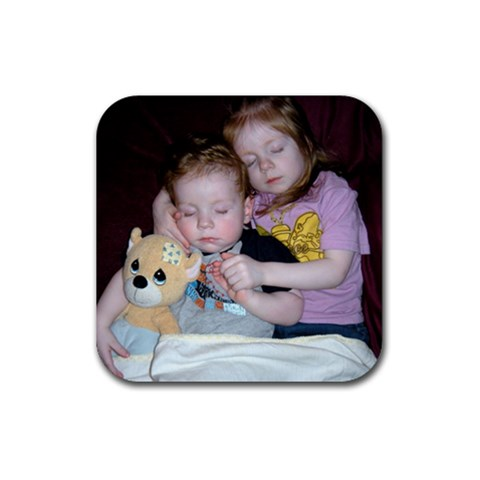 Sleeping Beauties By Sandra Unangst   Rubber Coaster (square)   76xtj52qxrk5   Www Artscow Com Front